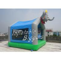 Elephant Balloon Commercial Inflatable Bouncers / HR4040 Inflatable Jumpers For Rent