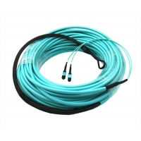 China 50/125um OM3 OM4 LSZH 24~144 Core MPO MTP Trunk Cable on sale