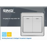 Buy Electrical Switch 2 Gang lighting Switch wall switches with LED light at wholesale prices