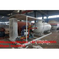 Buy cheap Customized CLW 5ton gas cylinder LPG bottling plant 50000 liters lpg gas station from wholesalers