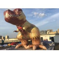 Quality Giant Custom Advertising Inflatables / Cartoon Character Inflatable Dinosaur For Decoration for sale