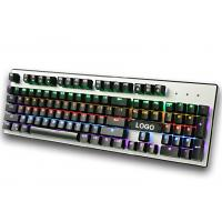 Quality Wired RGB mechanical gaming keyboard for Desktop , Laptop with CE / ROHS / FCC for sale