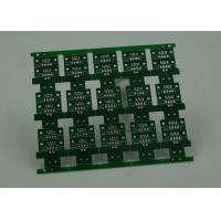 Buy RoHS HASL 4 Layer Rigid PCB Board Fabrication Finish Green Solder Mask at wholesale prices