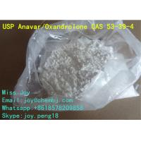 Quality Anavar Oxandrolone CAS 53-39-4 Good Body Shape Muscle Gain Steroid Powder for sale