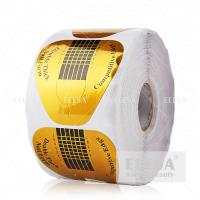Quality High Sticky Acrylic Nail Forms 500 Pieces Per Roll Extension Shaping for sale