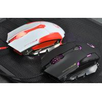 Buy Ergonomic gaming mouse with blue led , computer game mice with CE / ROHS / FCC at wholesale prices