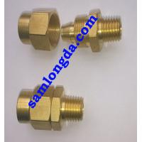 """Quality 1/4"""" NPT Pneumatic Fitting for PU Tube, Female coupling, brass material for sale"""