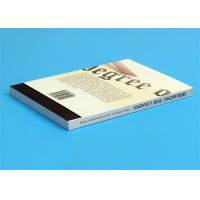 Quality Softcover Book Novel Book Printing Services , Glue Sewing Binding By Automatic Binder for sale