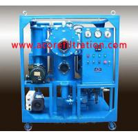 Quality Double Stages Vacuum Transformer Oil Filtration Systems for sale