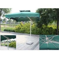 Quality Backyard Small Rectangular Patio Umbrella , Square Offset Umbrella Sunlight Proof for sale