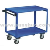 Hand cart Two lays bule easy small hand cart China hand cart for sale