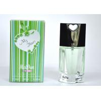 Quality 2047# Green Color My Heart Perfume , Male Spicy Woody Perfumes 10Ml for sale