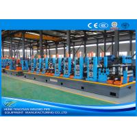 Quality HG114 Blue Steel Pipe Production Line Carbon Steel Large Size 100m / Min Mill Speed for sale