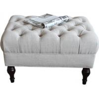 Quality Upholstered Bedroom Ottoman Bench Oak Wood Luxury Furniture For Hotel for sale