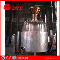 Quality Customized Hybrid Alcohol Commercial Distilling Equipment Beautiful Apperance for sale