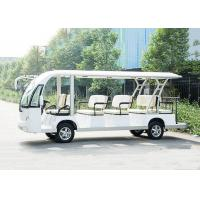 Quality 14 Seats 48V Trojan Battery Motor 72V 7.5KW Electric Sightseeing Bus for sale