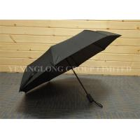 Quality Strong Windproof Button Open Umbrella , Fully Automatic Foldable Umbrella for sale