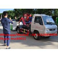 Quality Factory sale Bottom price KAMA mini 3m3 hook lift trash truck,FOT SALE! KAMA gasoline mini wastes collecting vehicle for sale