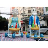 Buy cheap Commercial Inflatable Cartoon Characters Display With Logo Printing /  inflatable sarah from wholesalers