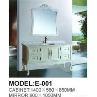Quality Antique Wooden Bathroom Cabinet E-001 for sale