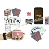 Quality Invisible Markings Cheating Playing Cards Plastic Poker Cheat Device for sale