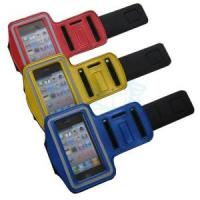 Quality Sport Arm Band for iPhone, Cotton Fiber Case for iPhone for sale