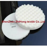Quality Eco-friendly 3M Soft foam compounding hook and loop pad for body face cleaning for sale