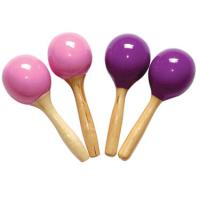Quality Purple Wood Toy Musical Instruments Small Orff Instruments Wooden maracas for sale