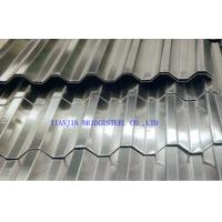 Buy DX54D+Z Colored Hot Dipped Galvanized Corrugated Steel Sheet For Building at wholesale prices