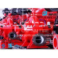 Quality NFPA Standard Double Suction Split Case Pump Centrifugal 2500GPM@135PSI for sale