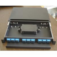 Quality SF-FPP006: Sliding Type 1U 36Core Fiber Optic Patch Panel for sale