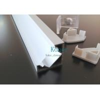 ALUMINIUM LED PROFILE FOR LED STRIPS - 45° - 2M