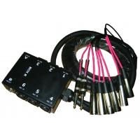 Buy Molded Colo 10 Channel Stage Snake Cable With 1/4 Inch TRS Returns at wholesale prices