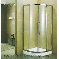 Buy 6mm to 12mm tempered / toughened  curved glass door with ISO9001, CE, Australia  AS/NZS 2208 Certificate at wholesale prices