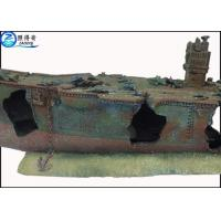 Buy Vintage Lost Ship Aquarium Resin Decorations Fish Tank Ornaments Non-toxic and at wholesale prices