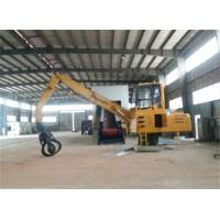 Quality Long Arm Assembled Retractable Petal Grapple Equipment For Grabbing Metal for sale