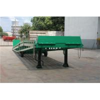 Quality 6 - 10 Tons Mobile Loading Ramp DCQY10-0.8 For Container Loading / Unloading for sale
