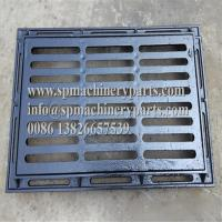 China Standard Custom Designs Hardware Tools Gray cast iron trench grating / solid covers and frames on sale