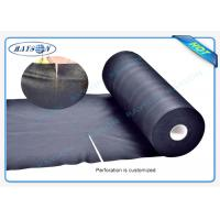 Quality Black Garden Weed Control Fabric For MaintainTemperature To Benefit Healthy Growth Weed Control for sale