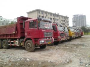 Quality CE 31t Heavy Duty Dump Truck , 336hp 8x4 Dump Truck for sale
