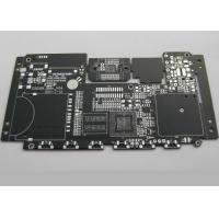 Quality BGA Black Solder Mask High Density Interconnect PCB for High end Electronics 8 Layer for sale