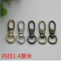 China SP080 Custom zinc alloy 5 color 14 mm swivel spring snap clip bag strap hook for bags on sale