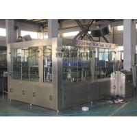 Quality 32 Heads Beverage Production Line 380V 3 Phase No Gas Drinks Filling Machine for sale