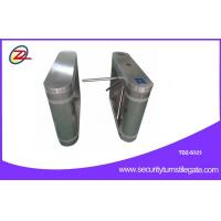 Quality Fully automatic tripod turnstile gate with One-dimensional code , 316 stainless steel for sale