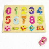 Quality Letter Puzzle, Made of Solid Wood for sale