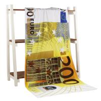 Quality Euro Subli-Cotton Terry digital printed beach towels for sale