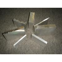 Quality Powder Coating Aluminum Structural Extrusions Profiles for Radiators for sale
