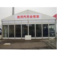Quality Easy Install Classic Size Temporary Tent Building With Glass Wall for sale