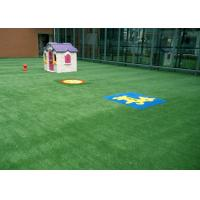 Quality Kids Friendly Spring Artificial Grass For Garden 25mm M Shape Durable 3 Tone for sale