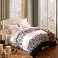 Quality Home Textile King Size Cotton Bedding Sets Beautiful Design Washable for sale